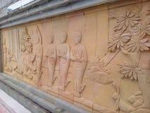 Thailand oerhört konstverk Arkivbilder