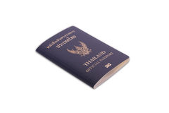 Thailand Official Passport Royalty Free Stock Photography