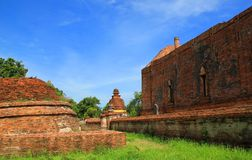Thailand. The old temple ancient city at Ayutthaya Thailand Royalty Free Stock Image