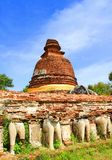 Thailand. The old temple ancient city at Ayutthaya Thailand Stock Photography