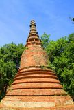 Thailand. The old temple ancient city at Ayutthaya Thailand Stock Photo