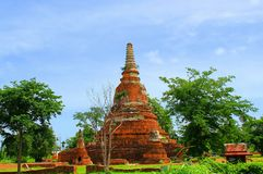 Thailand. The old temple ancient city at Ayutthaya Thailand Stock Image
