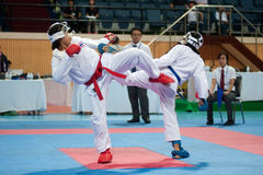 Thailand Open Karate-Do Championship 2013 Stock Photo