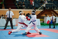 Thailand Open Karate-Do Championship 2013 Stock Photography
