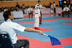 Thailand Open Karate-Do Championship 2013 Royalty Free Stock Photos