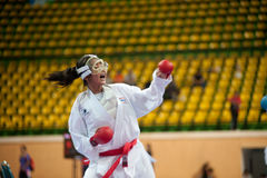 Thailand Open Karate-tun Meisterschaft 2013 lizenzfreie stockfotografie