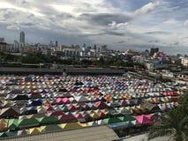 Thailand outdoor market stock photo