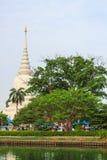 Thailand pagod Arkivfoto