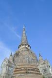 Thailand Pagoda. Thailand ancient pagoda in Ayutthaya royalty free stock photography