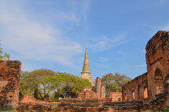 Thailand Pagoda. Thailand ancient pagoda in Ayutthaya Royalty Free Stock Photos