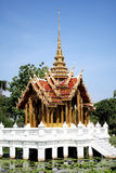 Thailand Pagoda on water Royalty Free Stock Image