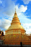 Thailand-Pagode Stockfoto