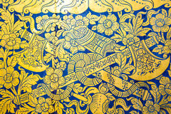 Thailand painting texture Stock Photo