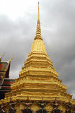 Thailand palace. Golden roof of the builds ,in the Thailand palace Royalty Free Stock Photos