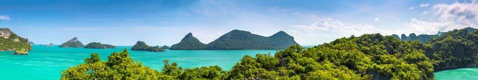 Thailand-Panorama Stockfoto
