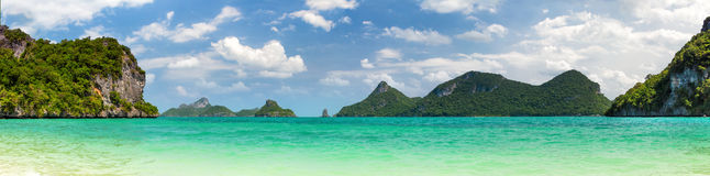 Thailand panorama. Thailand landscape panorama. Nature panorama Royalty Free Stock Photos