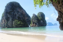 Thailand Paradise. Relax paradise beach in thailand Stock Image