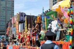 Thailand Participants at Pride Parade in Toronto Stock Photo