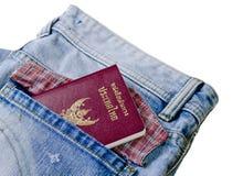 Thailand-Pass stockfotos