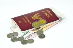 Thailand passport Stock Photography