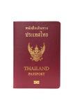 Thailand passport Stock Photo