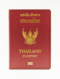 Thailand Passport. On the white background Stock Images
