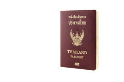 Thailand Passport Stock Photo