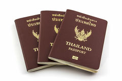 Thailand passport. Royalty Free Stock Photos