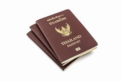 Thailand passport. Royalty Free Stock Images
