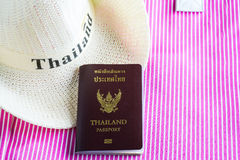 Thailand Passport Royalty Free Stock Images