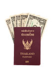Thailand passport. Isolated on white background Stock Photo