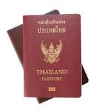 Thailand Passport stock photography