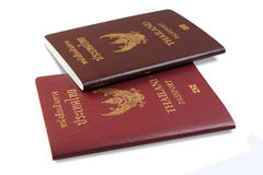 Thailand Passport royalty free stock image