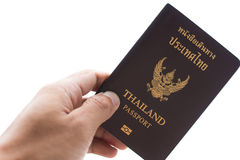 Thailand passport Royalty Free Stock Photo
