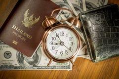 Thailand passport Royalty Free Stock Photos