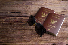 Thailand passport an official document issued by a government, c. Ertifying the holder's identity and citizenship and entitling them to travel under its stock images