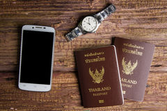 Thailand passport an official document issued by a government, c. Ertifying the holder's identity and citizenship and entitling them to travel under its stock photos