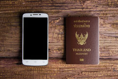 Thailand passport an official document issued by a government, c Royalty Free Stock Images