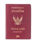 Thailand Passport on table stock photos