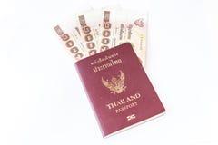 Thailand passport Stock Image
