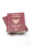 Thailand passport. On white background Royalty Free Stock Photography
