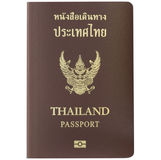 Thailand Passport. With white background or stock photos