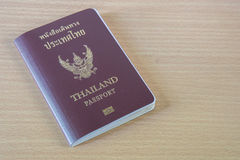 thailand passport Stock Image