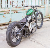 Thailand , Pathumthani , June 4 : Motorbike classic and antique Stock Photo