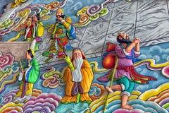 Anek Kuson Sala Pattaya,The Viharn Sien is a beautiful Chinese t. Thailand, Pattaya 30,06,2017 Anek Kuson Sala Pattaya,The Viharn Sien is a beautiful Chinese stock image