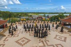 Anek Kuson Sala Pattaya,The Viharn Sien is a beautiful Chinese t royalty free stock photos