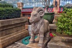 Anek Kuson Sala Pattaya,The Viharn Sien is a beautiful Chinese t. Thailand, Pattaya 30,06,2017 Anek Kuson Sala Pattaya,The Viharn Sien is a beautiful Chinese royalty free stock photos