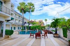 Thailand Pattaya Hotel Stock Photo