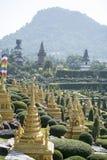THAILAND PATTAYA NONG NOOCH TROPISK TRÄDGÅRD royaltyfri foto