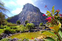 thailand Pattaya Roccia di Buddha fotografie stock